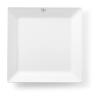 Bord vierkant 36.8 x 36.8 cm melamine, wit