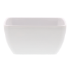 Schaal vierkant 15 x 15 cm melamine, wit